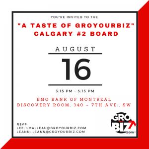 Taste of GYB Calgary #2