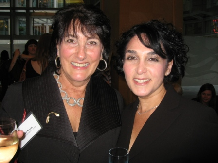 Barbara and Michelle Pockey at PWN 15th Anniversary Awards