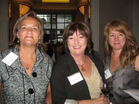 GYB Members Cheryl Dawn Smith, Barb Schimnowsky, Annie Storey