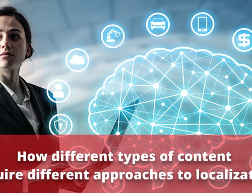 How Different Types of Content Require Different Approaches to Localization