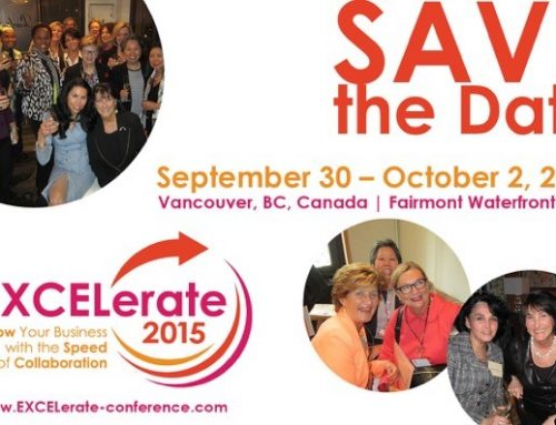 Save the Date!  EXCELerate 2015: Grow Your Business with the Speed of Collaboration