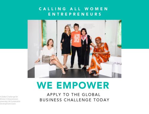 WE Empower UN SDG Challenge 2019