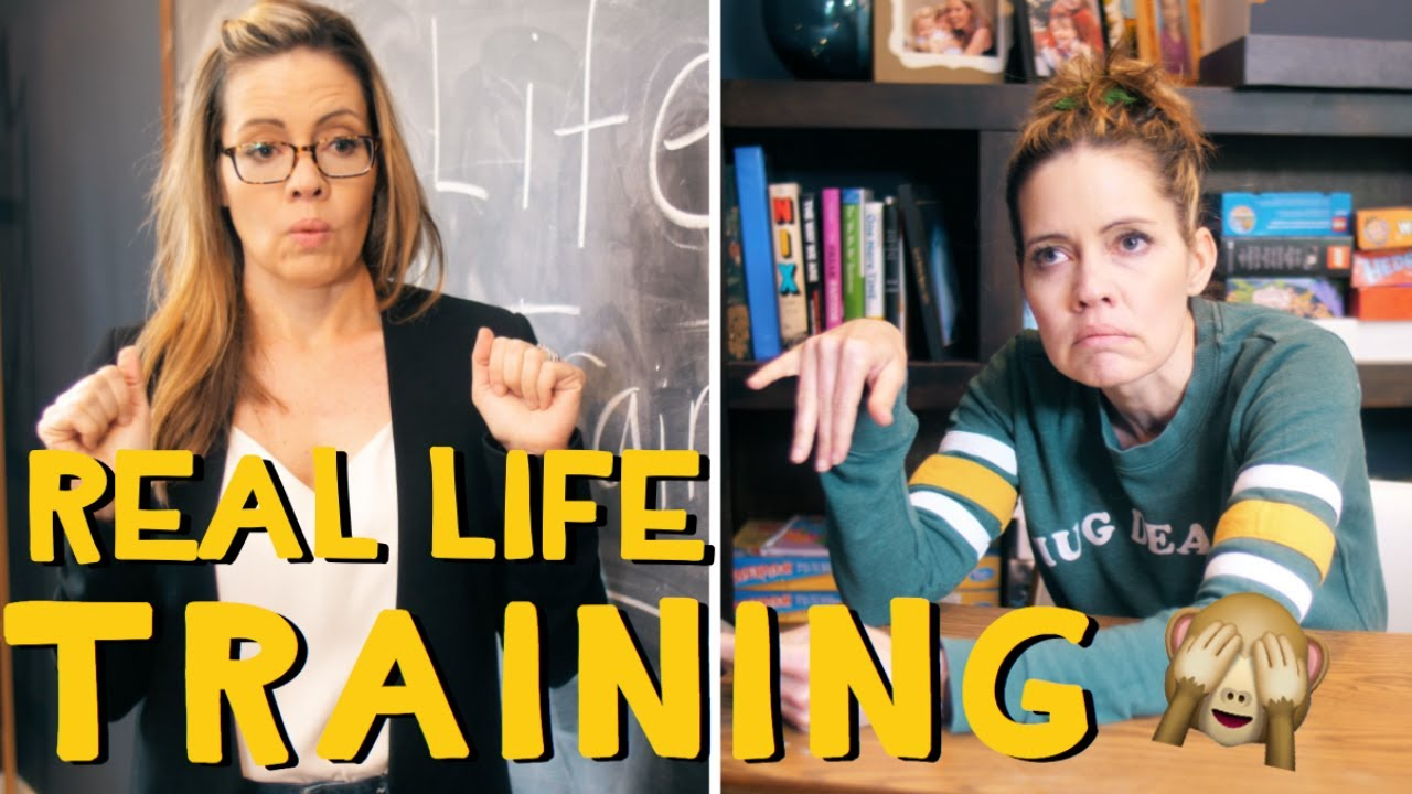 Real Life Training How to get dressed