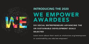 WE Empower Awardees 2020