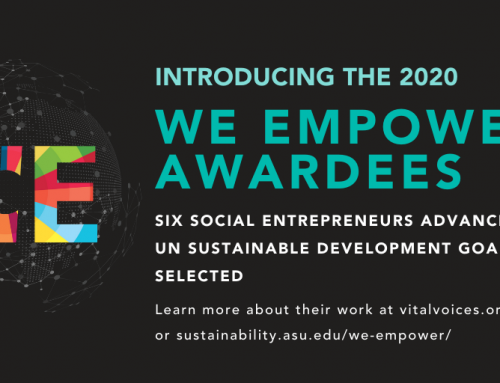 WE Empower UN SDG Challenge Awardees 2020