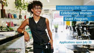 BMO Celebrating Women Grant Program 2020