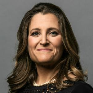 Deputy Prime Minister of Canada Chrystia Freeland