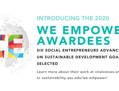 WE Empower UN SDG Challenge Awardees 2020