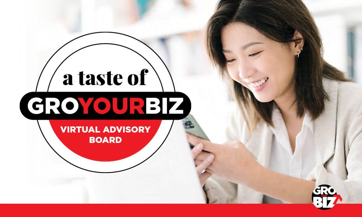 A Taste of GroYourBiz Virtual Advisory Boards Women Business Forum