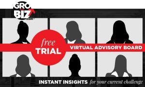 GroYourBiz 1HR Free Trial Virtual Advisory Board Sessions