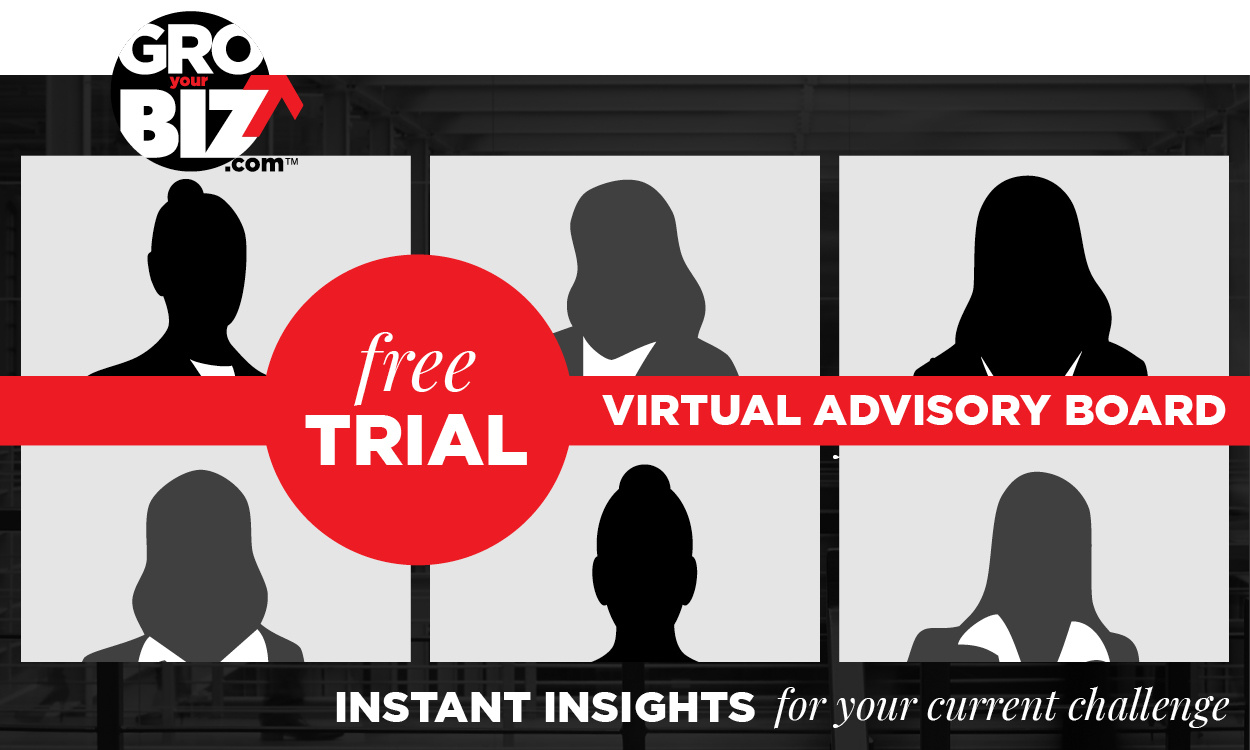 GroYourBiz 1HR Free Trial Virtual Advisory Board Sessions