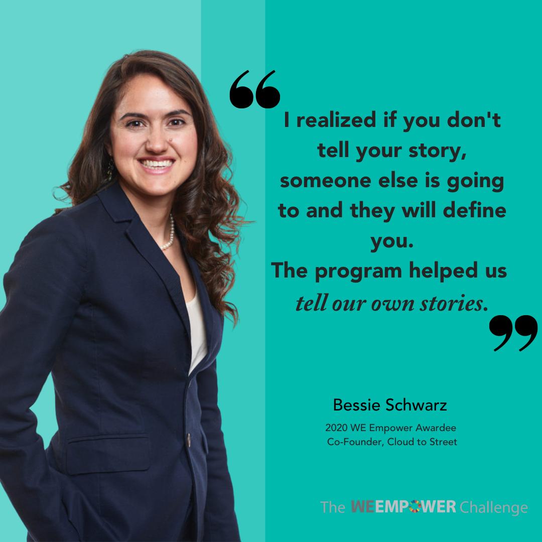 Bessie WE Empower App Graphic