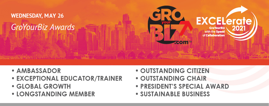 EXCELerate 2021 GroYourBiz Awards