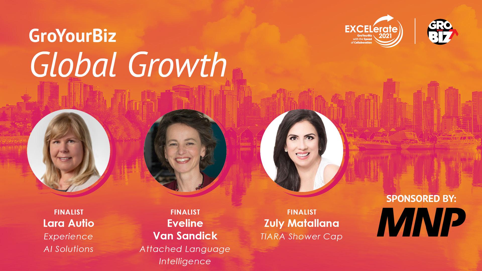 GroYourBiz Global Growth Award Finalists