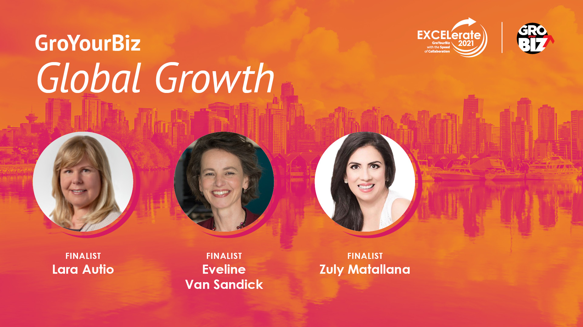 GroYourBiz Global Growth Award Finalists