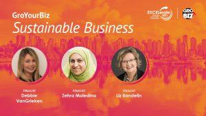 GroYourBiz Sustainable Business Award Finalists