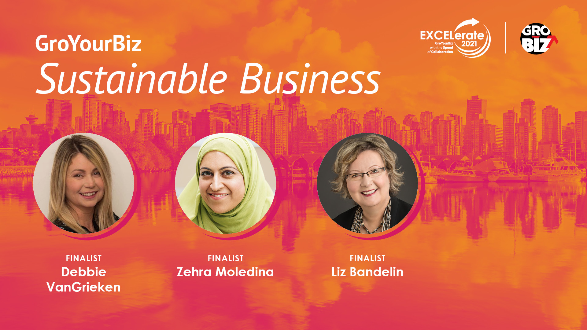 GroYourBiz Sustainable Business Award Finalists