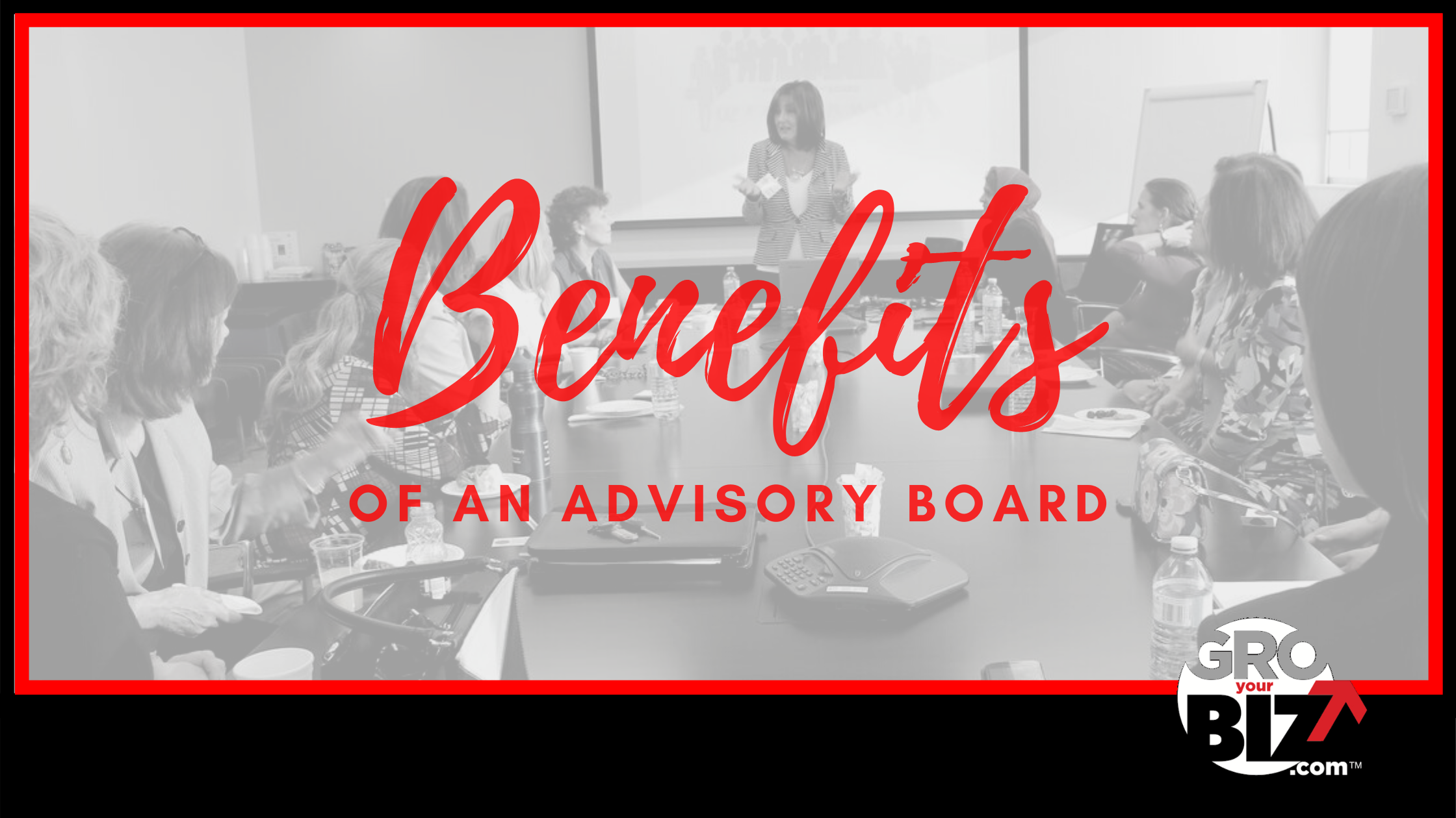 Benefits of an Advisory Board Banner