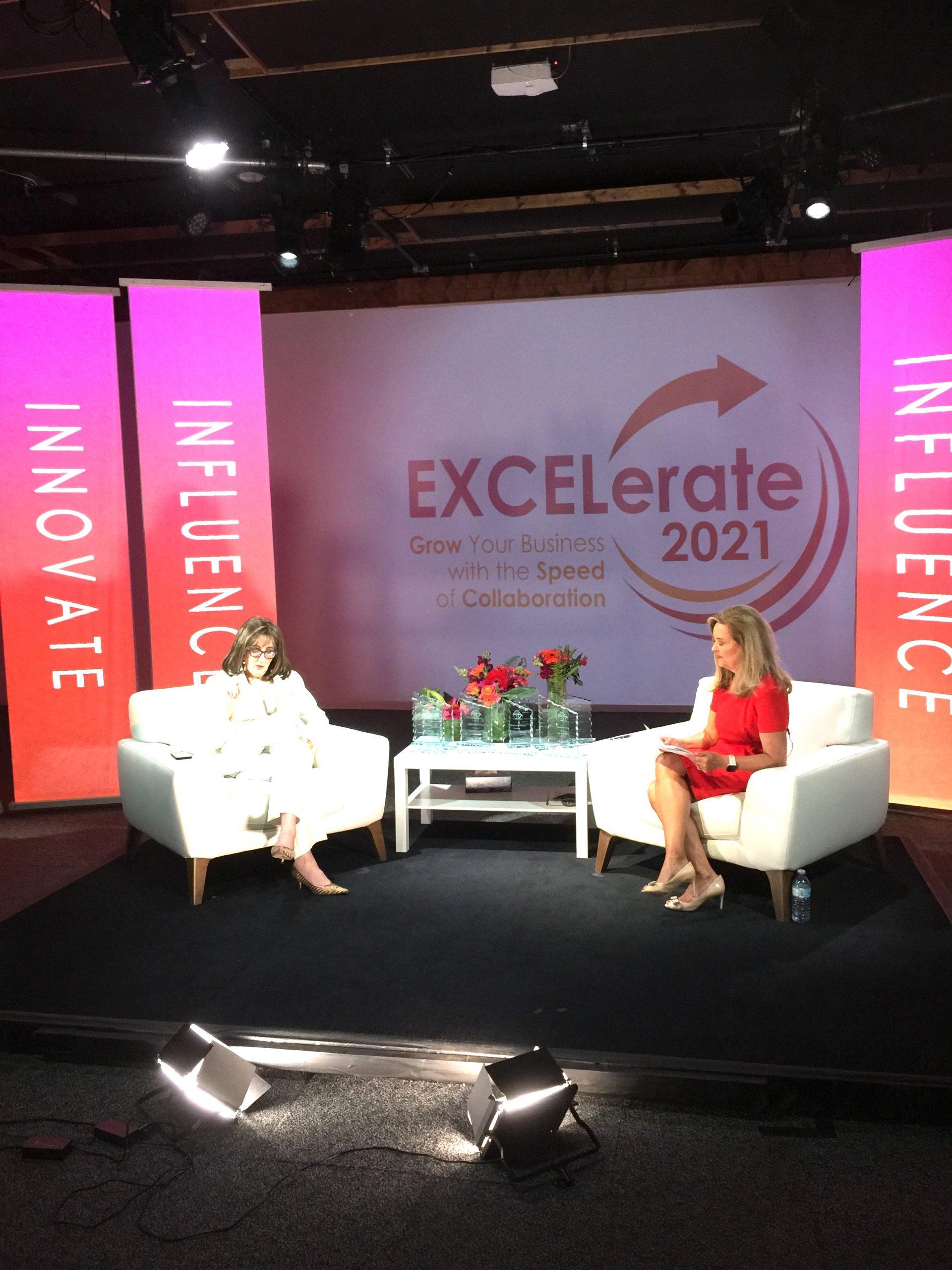EXCELerate2021 Barbara Mowat GroYourBiz Pamela Martin Hubcast International