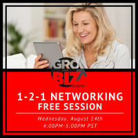 1-2-1 Networking PM August