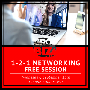 1-2-1 Networking PM September