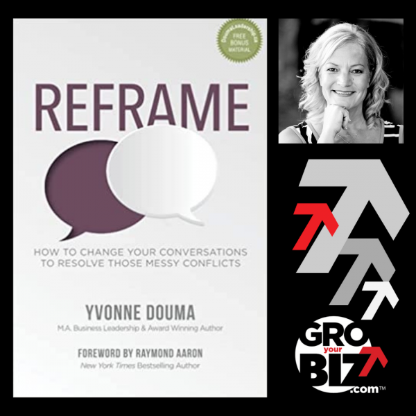 2 GroYourBiz Members launch book Yvonne Douma Refame women entrepreneur book launch