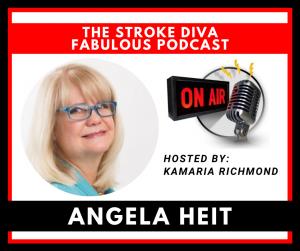 Angela Heit The Stroke Diva Fabulous Podcast GroYourBiz