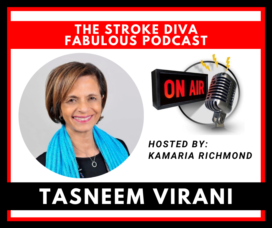 Tasneem Virani The Stroke Diva Fabulous Podcast GroYourBiz